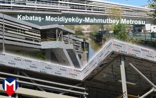 Kabataş - Mecidiyeköy - Mahmutbey Metrosu